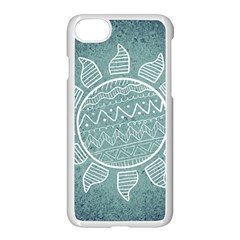 Sun Abstract Summer Iphone 7 Seamless Case (white)