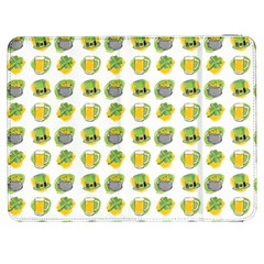 St Patricks Day Background Symbols Samsung Galaxy Tab 7  P1000 Flip Case