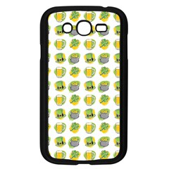St Patricks Day Background Symbols Samsung Galaxy Grand Duos I9082 Case (black) by HermanTelo
