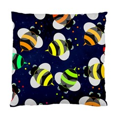 Textured Bee Standard Cushion Case (two Sides)