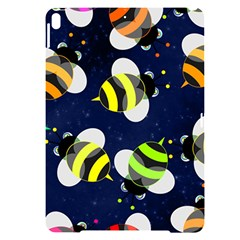 Textured Bee Apple Ipad Pro 10 5   Black Uv Print Case