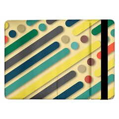 Vintage Desktop Color Samsung Galaxy Tab Pro 12 2  Flip Case by HermanTelo