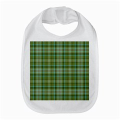 Vintage Green Plaid Bib
