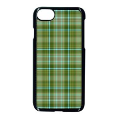 Vintage Green Plaid Iphone 7 Seamless Case (black) by HermanTelo