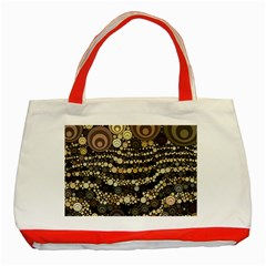 Vintage Style Classic Tote Bag (red) by HermanTelo