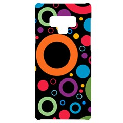 Wallpaper Circle Samsung Note 9 Black Uv Print Case  by HermanTelo
