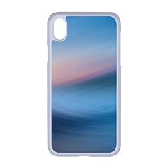 Wave Background Iphone Xr Seamless Case (white)