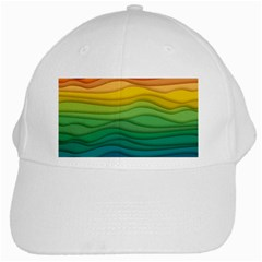 Waves Texture White Cap by HermanTelo