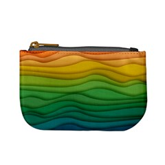 Waves Texture Mini Coin Purse