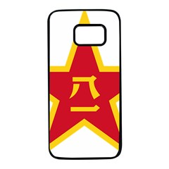 Emblem Of People s Liberation Army  Samsung Galaxy S7 Black Seamless Case by abbeyz71
