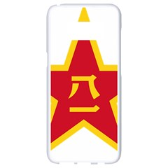 Emblem Of People s Liberation Army  Samsung Galaxy S8 White Seamless Case by abbeyz71