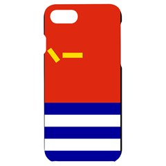 Naval Ensign Of People s Liberation Army Iphone 7/8 Black Uv Print Case by abbeyz71