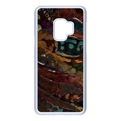Abstract Art Samsung Galaxy S9 Seamless Case(white)
