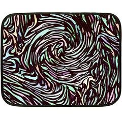 Stained Glass Double Sided Fleece Blanket (mini)