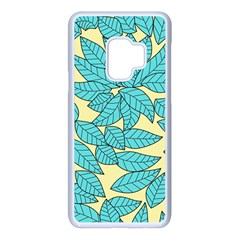 Leaves Dried Samsung Galaxy S9 Seamless Case(white)