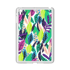Leaves Rainbow Pattern Nature Ipad Mini 2 Enamel Coated Cases by Alisyart
