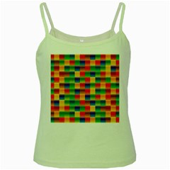 Background Colorful Abstract Green Spaghetti Tank by Bajindul