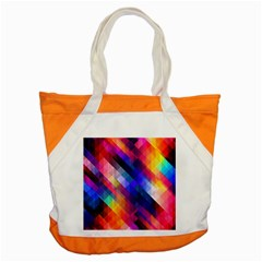Abstract Background Colorful Pattern Accent Tote Bag by Bajindul