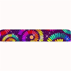 Abstract Background Spiral Colorful Small Bar Mats by Bajindul