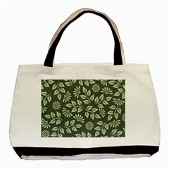 Flowers Pattern Spring Nature Basic Tote Bag