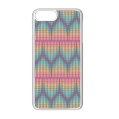 Pattern Background Texture Colorful Iphone 8 Plus Seamless Case (white) by Bajindul