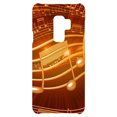 Music Notes Sound Musical Love Samsung S9 Plus Black Uv Print Case