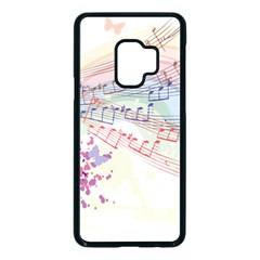 Music Notes Abstract Samsung Galaxy S9 Seamless Case(black)