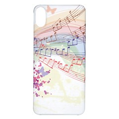 Music Notes Abstract Iphone X/xs Soft Bumper Uv Case