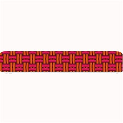 Pattern Red Background Structure Small Bar Mats