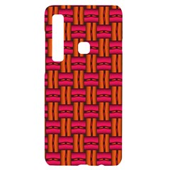 Pattern Red Background Structure Samsung Case Others by Bajindul