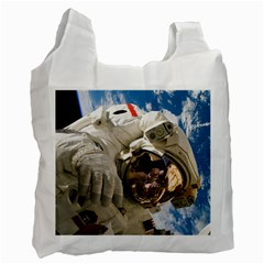 Astronaut Space Shuttle Discovery Recycle Bag (two Side)