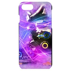 Ski Boot Ski Boots Skiing Activity Iphone 7/8 Black Uv Print Case by Pakrebo