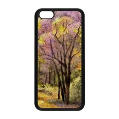 Outdoor Nature Natural Woods Iphone 5c Seamless Case (black)