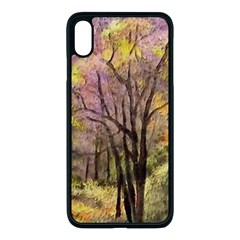 Outdoor Nature Natural Woods Iphone Xs Max Seamless Case (black) by Pakrebo