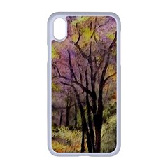 Outdoor Nature Natural Woods Iphone Xr Seamless Case (white)