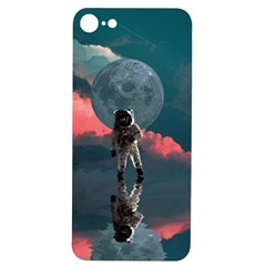 Astronaut Moon Space Planet Iphone 7/8 Soft Bumper Uv Case by Pakrebo