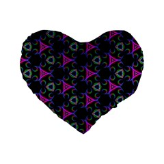 Background Wallpaper Pattern Standard 16  Premium Heart Shape Cushions