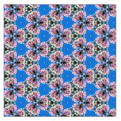 Pattern Sequence Motif Design Plan Floral Large Satin Scarf (square)