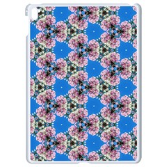 Pattern Sequence Motif Design Plan Floral Apple Ipad Pro 9 7   White Seamless Case