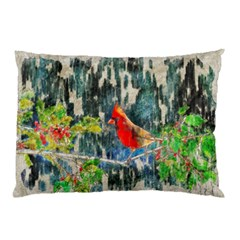 Texture Art Decoration Abstract Bird Nature Pillow Case (two Sides)
