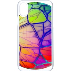 Isolated Transparent Sphere Iphone X Seamless Case (white)