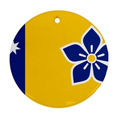 Proposed Flag Of Australian Capital Territory Ornament (round) by abbeyz71