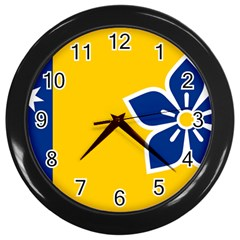 Proposed Flag Of Australian Capital Territory Wall Clock (black) by abbeyz71
