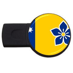 Proposed Flag Of Australian Capital Territory Usb Flash Drive Round (2 Gb) by abbeyz71