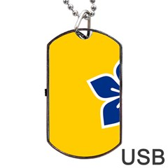 Proposed Flag Of Australian Capital Territory Dog Tag Usb Flash (two Sides) by abbeyz71