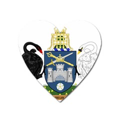 Coat Of Arms Of Australian Capital Territory Heart Magnet by abbeyz71