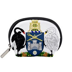 Coat Of Arms Of Australian Capital Territory Accessory Pouch (small) by abbeyz71