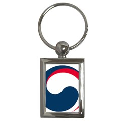 Government Emblem Of Government Of Republic Of Korea Key Chain (rectangle) by abbeyz71