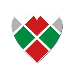 Logo Of United Patriots Electoral Alliance In Bulgaria Heart Magnet by abbeyz71