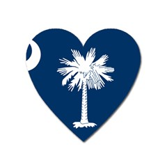 South Carolina State Flag Heart Magnet by abbeyz71